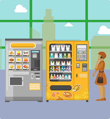 Settore vending machine