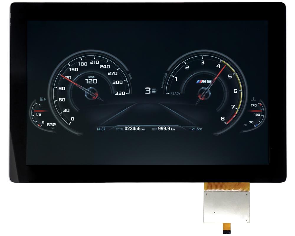 """10.1"""" dashboard"""