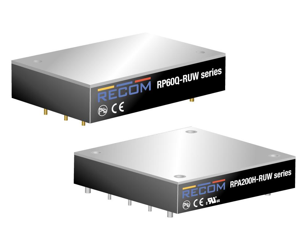 RP60Q-RUW e RPA200H-RUW
